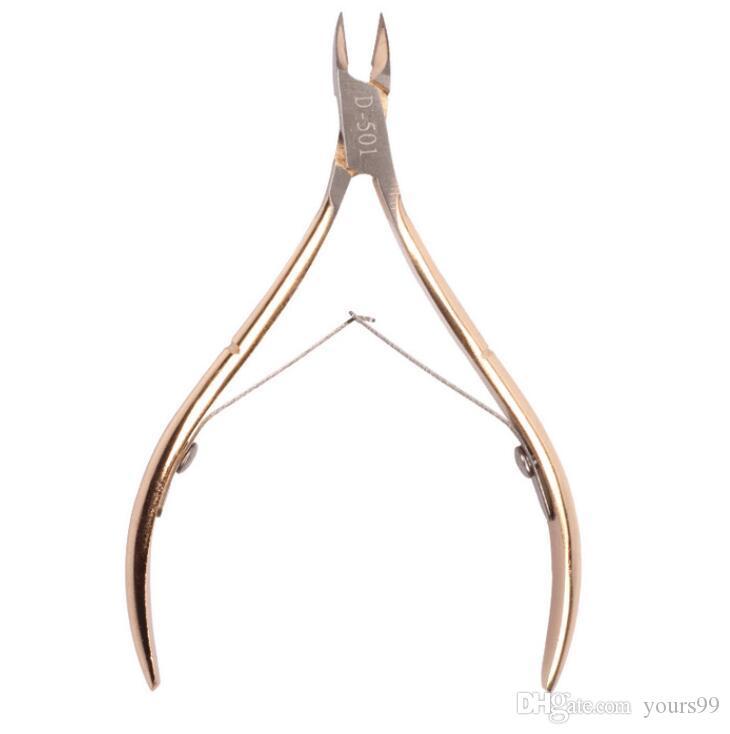 손톱 발톱 큐티클 니퍼 트리밍 스테인레스 스틸 전문 네일 클리퍼 커터 표피 가위 펜치 매니큐어 도구 무료 배송