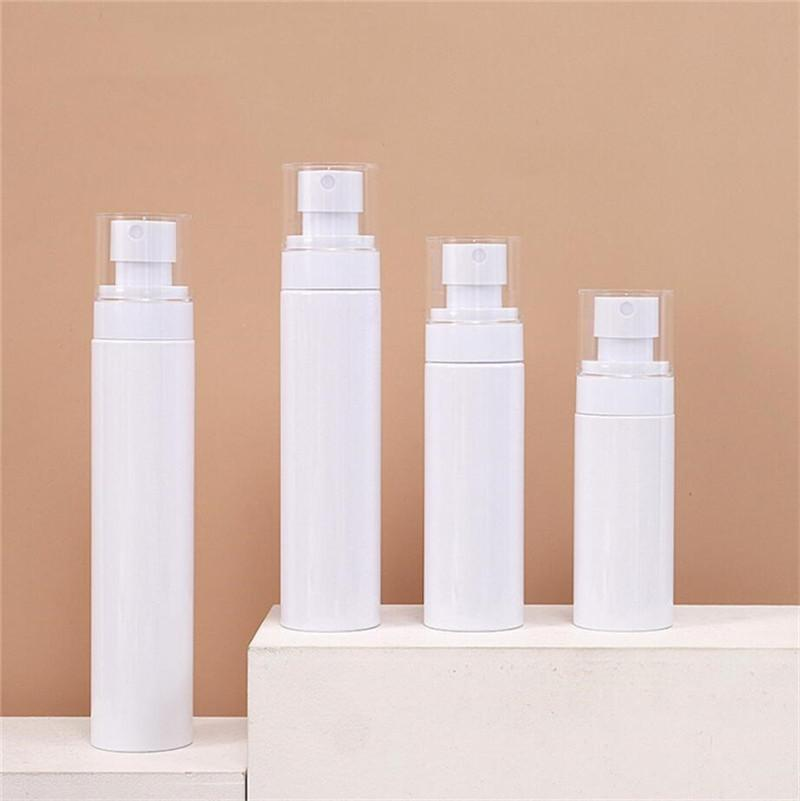 60ml 80ml 100ml 120ml Spray Bottles Clear Empty Fine Mist Plastic Travel Bottle Refillable Lotion Pump Cosmetic Containers