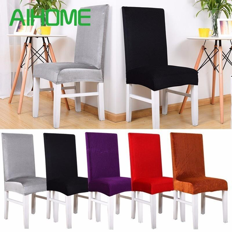 Thickened Spandex Stretch Chair Cover Washable chair covers Restaurant Dining for banquet hotel coffee shops wedidings christmas