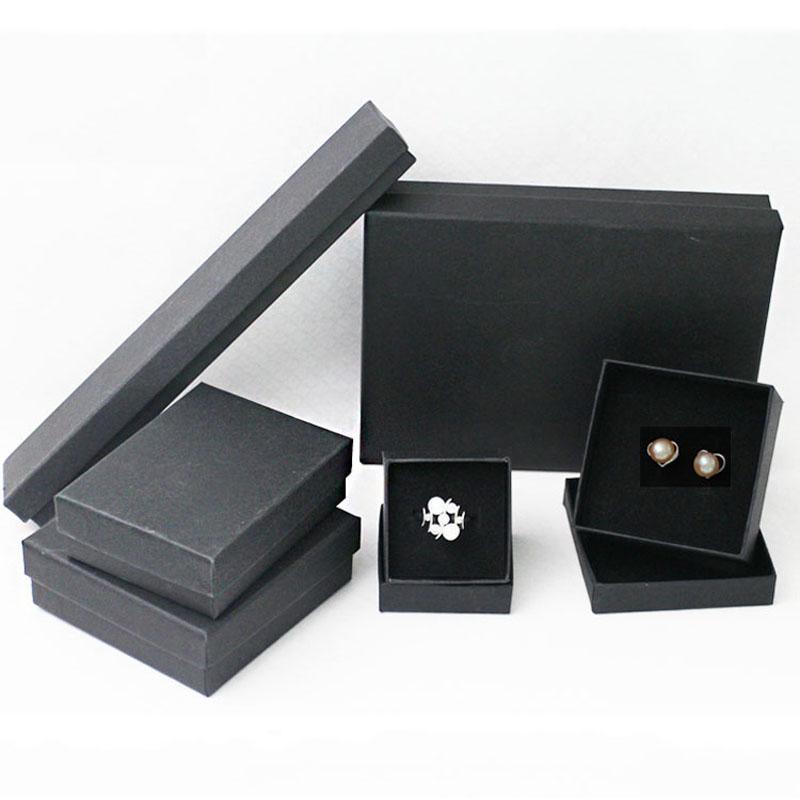 Christmas Select Gift Box 2020 2020 Black Kraft Packing Boxes Retail Boxes Bag For Bracelet
