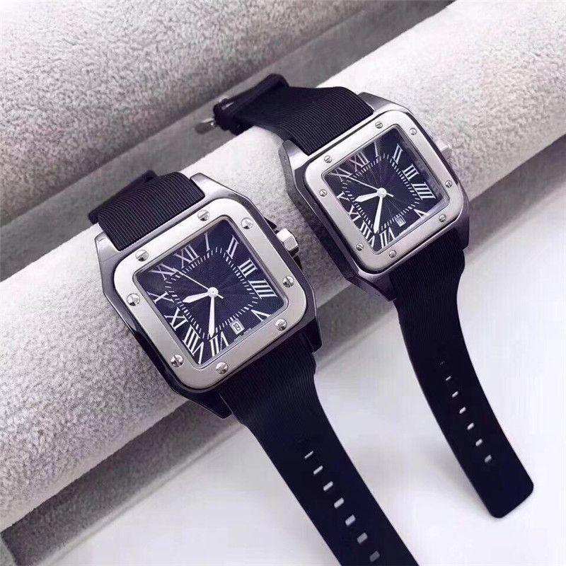9 estilos de mens luxo mulher Assista Moda Casual relógios desporto borracha pulseira estudante wristwatches mulheres luxo masculino relógios montre de luxe