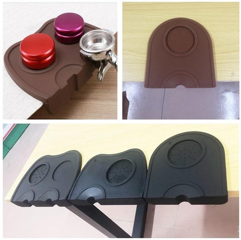 Espresso Coffee Tamper Mat Pad Silicone Irrgular Anti-Slip Mat Tamping Holder