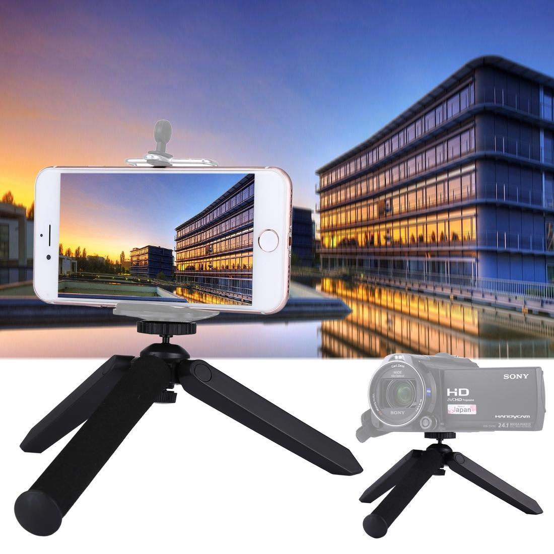 2 в 1 Ручной штатив Автопортрет монопод Selfie Stick для смартфонов, цифровых камер, спортивных камер GoPro