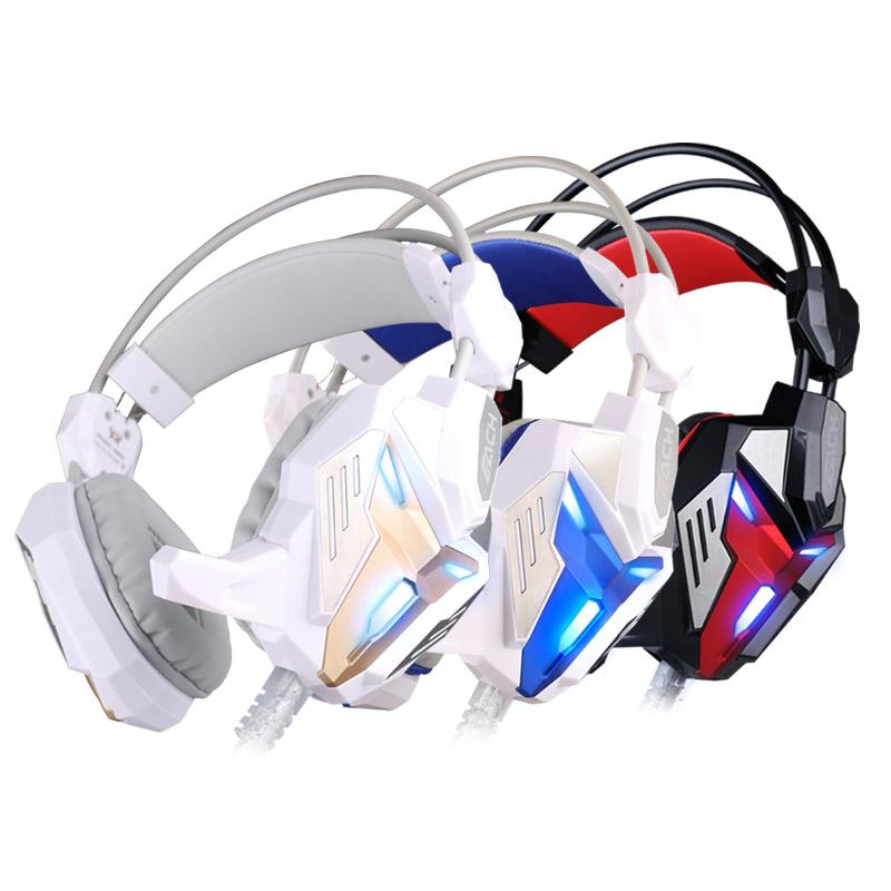 G3100 Good Net Vibration Function Pro Gaming Headphone Games Headset with Mic Stereo Bass LED Light for PC Gamer