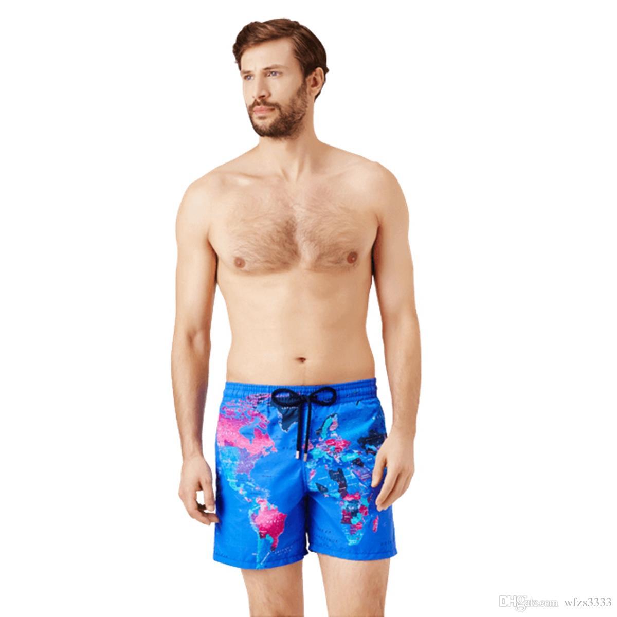 Vilebre мужчины купальники HERRINGBONES черепахи новые летние повседневные шорты мужская мода стиль Мужские шорты бермуды пляжные шорты 50217