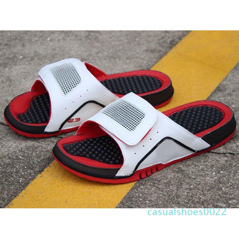 Açık SNEAKERS boyutu 36-46 C22 erkekler Beach'in sandal 11 XI 6 VI ayakkabı nakliye Jumpman 4 terlik sandalet Hidro IV'ün 4s Slaytlar siyah Ücretsiz