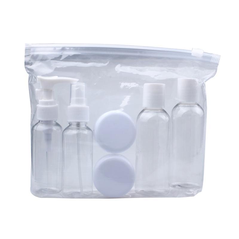جودة عالية جديد المحمولة شفافة السفر زجاجة مستحضرات التجميل النقاط تعبئة ستة Sets5.25B789