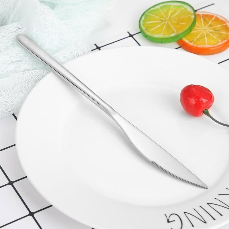 Aço Inoxidável Jantar Facas Faqueiro Tabela portátil faca de cozinha Utensílios louça para a cozinha restaurantes ao ar livre Talheres