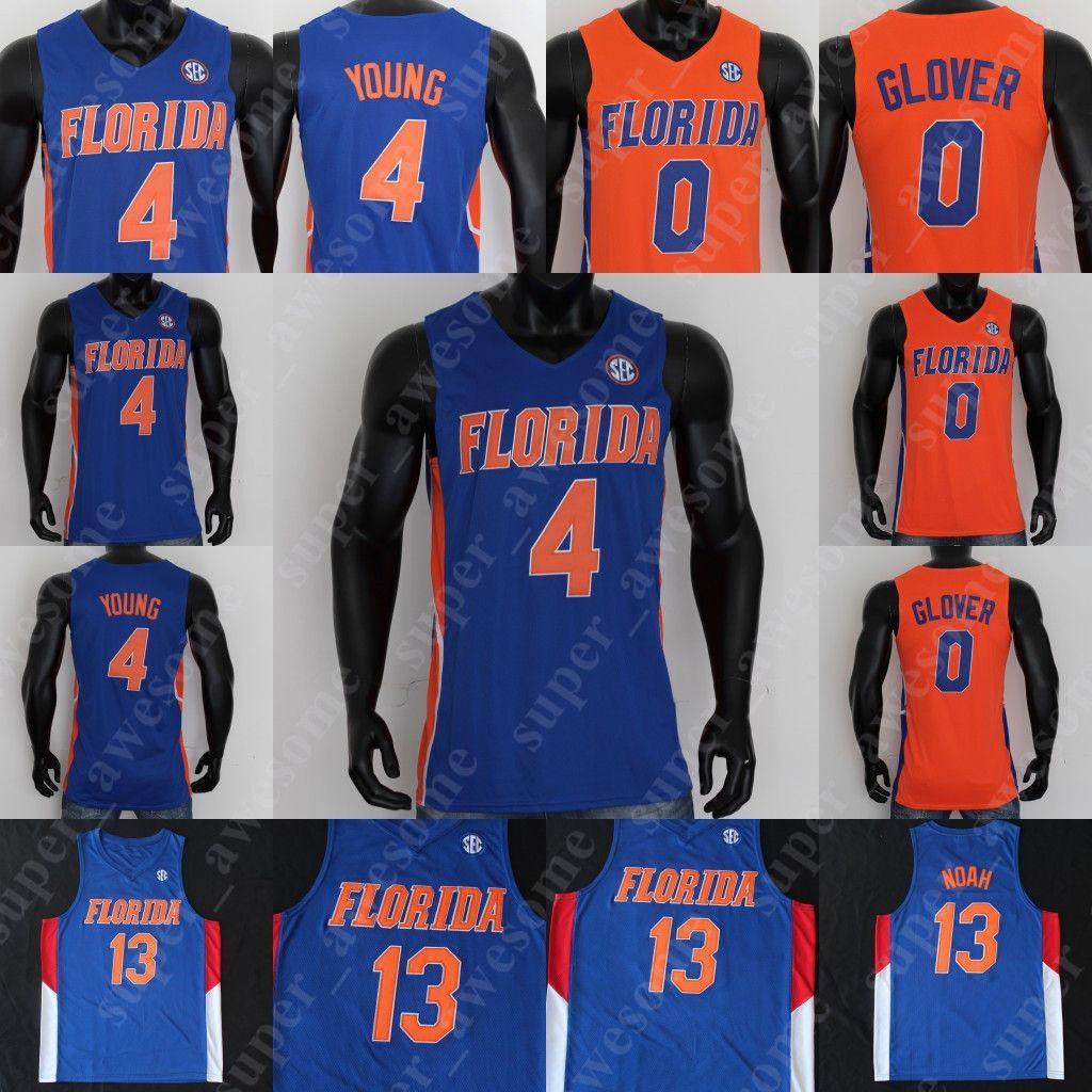 NCAA Florida Gators Jersey Andrew Nembard Scottie Lewis Ques Glover Tre Mann 13 Noé 4 Jovens 42 Horford 23 Beal Brewer 13 Miller