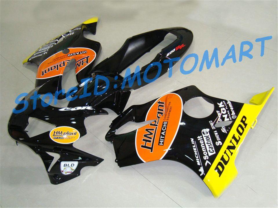 INCREÍBLE Juego de carenado personalizado para HONDA CBR600F4 99 00 CBR600 F4 1999 2000 CBR 600 F4 600F4 CBR600 Kit de cuerpo de carenados HP39