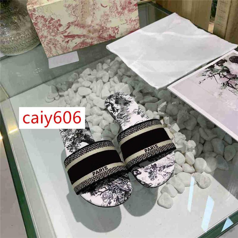 VENDITA CALDA di tendenza della Boemia delle donne pantofole VENDITA CALDA formato Letter ricamo della signora Sandal 35