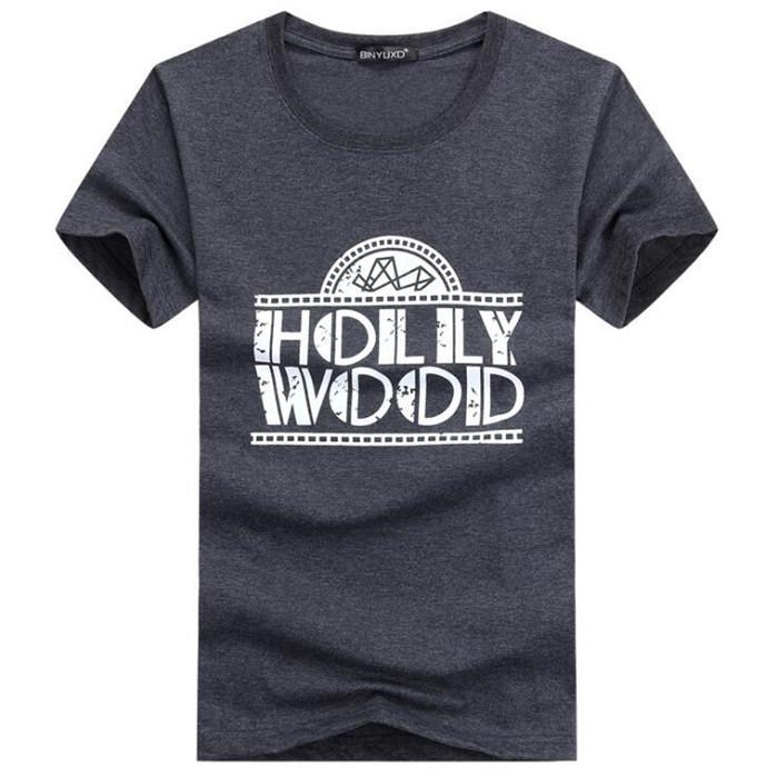 Maglietta del cotone di formato S-5XL O collo 5 Mens di colore T-shirt 2020 Estate Skateboard Tee Boy Hip hop Skate Tshirt Top Y5