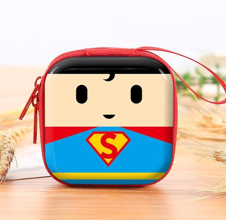 Coin Purses & Holders Luggage & Bags Novelty Cartoon Silicone Coin Purse Japanese Anime Eva Zipper Earphone Holder Organizer Bag Gifts Kids Boys Girls Dollar Wallets