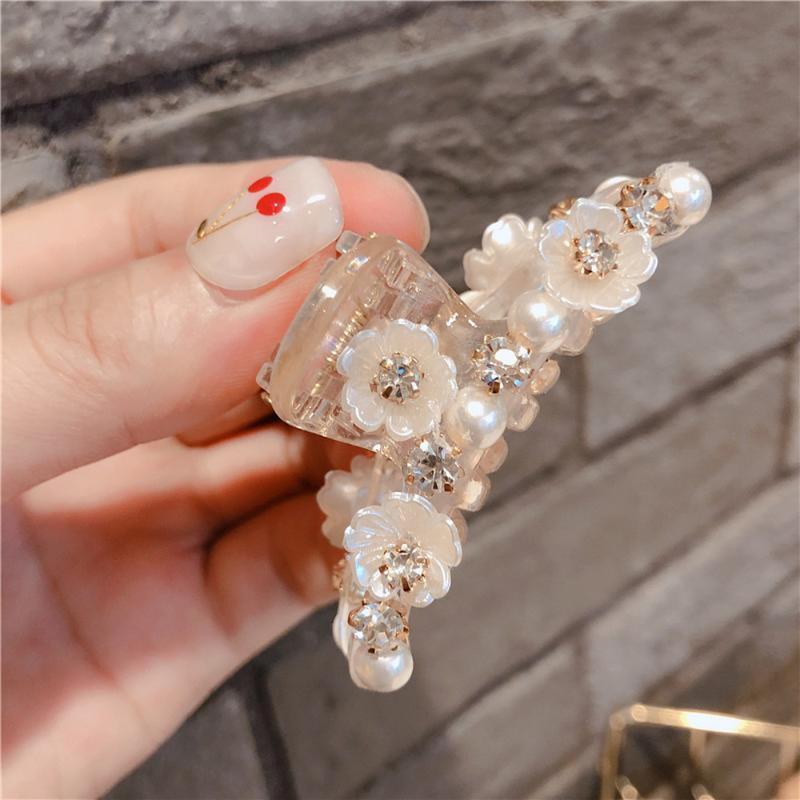Женские волосы простой милый Shell цветок заколки для волос для девушки Модные аксессуары оптом