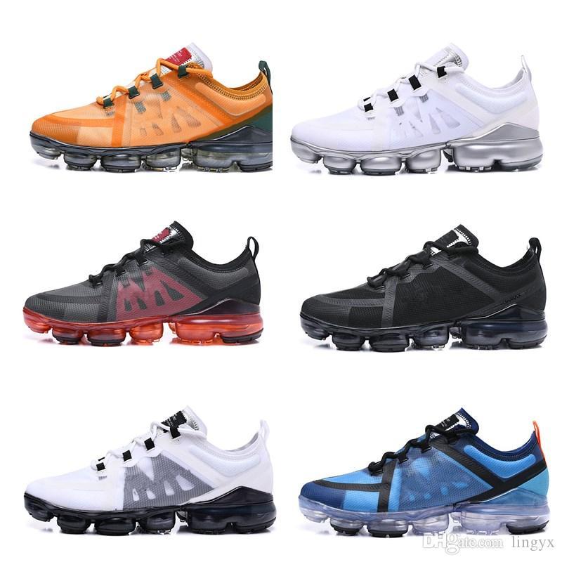 Nike Air VaporMax 2019 Run Utility Neue Run UTILITY Laufschuhe für Herren Tn Plus dreifach weiß schwarz REFLECTIVE Medium Olive Burgundy Crush Designer-Sneaker-Sneaker für Herren