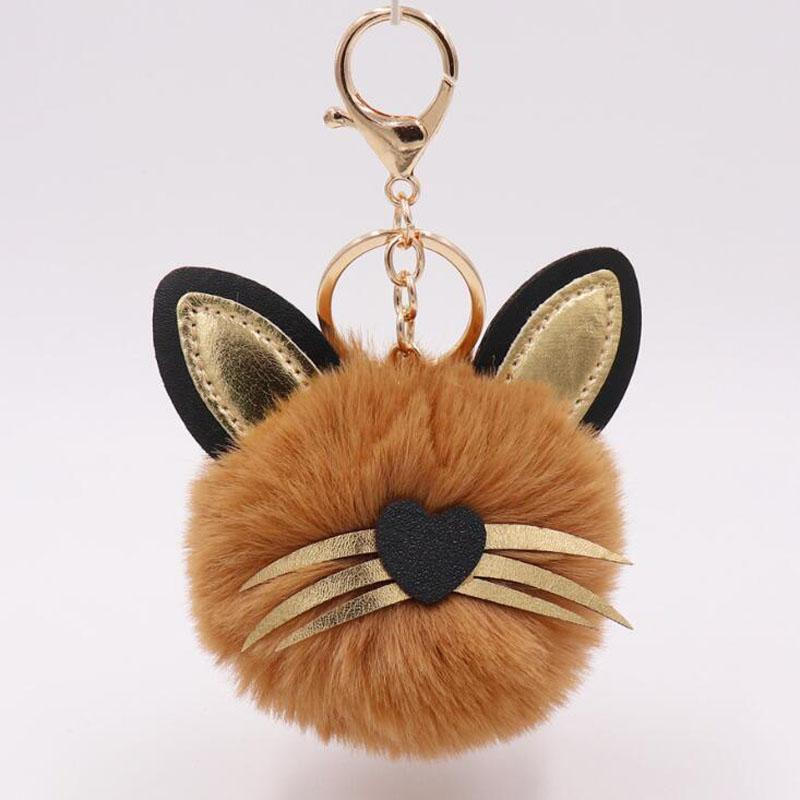 MOQ:20PCS Baby Shower Party Favors Guest Giveaway Plush Cat Keychains Personalized Gift Bags Decoration For Wedding Souvenir