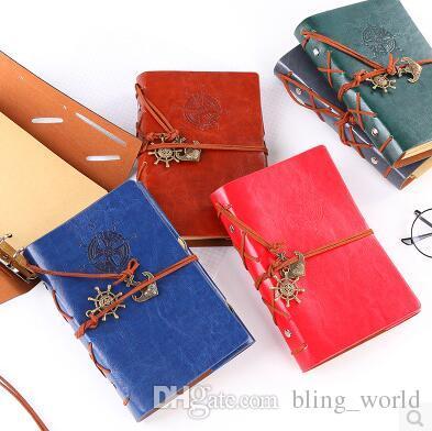 خمر حديقة السفر يوميات كتب متعدد الألوان دوامة القراصنة دفاتر تكرار كرافت ورقة مجلة دفتر الطالب الكلاسيكية jotter CLS292