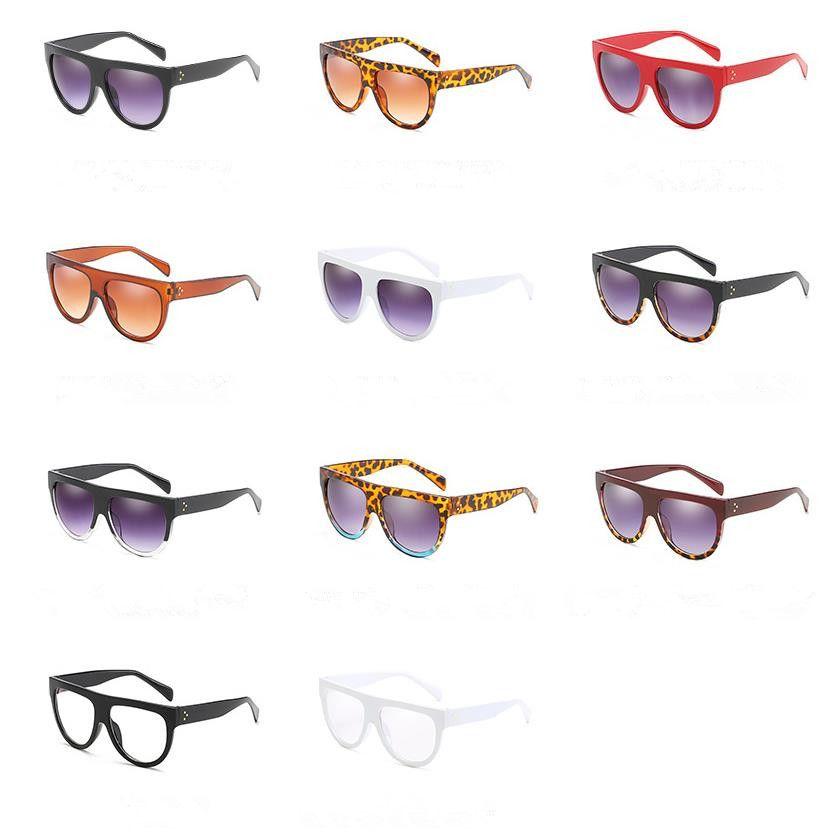 Moda Mulheres Personalidade Sunglasses Semicircle Sun Óculos Anti-UV Óculos Óculos Óculos Goggle Adumbral A ++