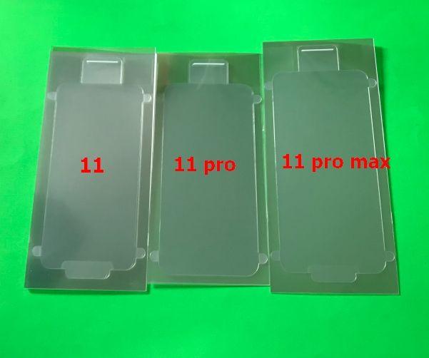 100 STÜCKE Neue Telefon Fabrik Kunststoff Wrap Seal Frontbildschirm Zurück Abdeckung Protector Film für iPhone 6G 6S 7 8 7G 8G x x x XR 11 PRO MAX 12 PRO MAX