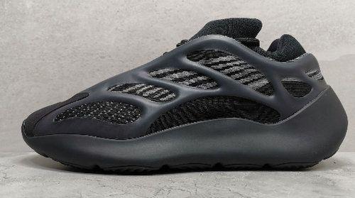 Satış Glows In Dark Versiyon Kanye West Erkekler Kadın Açık Ayakkabı Koşu için Azael Alvah 700 v3 Siyah Tasarımcı Ayakkabı