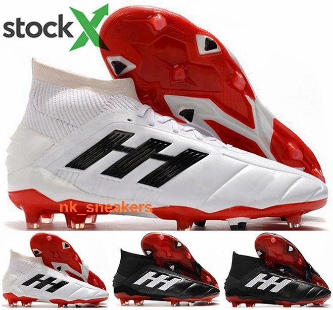 women football ball cleats Men eur 46 boots size us 12 FG AG cheap Predator Mania 19 Shoes soccer Mens tennis white new arrival 2020 orange