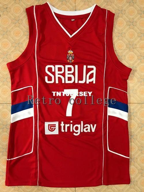 check out 58551 2cb1f 2019 7 Bogdan Bogdanovic 2017 Team Serbia Men'S Jersey,100% Stitched  Basketball Jersey From Tntjersey, $34.02   DHgate.Com