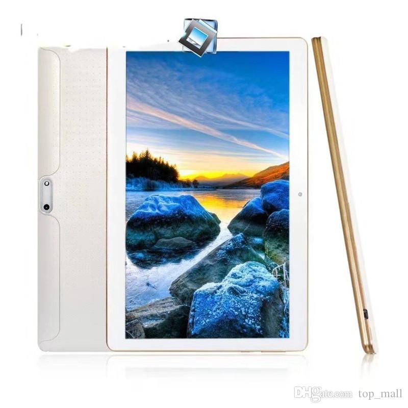 """10.1 """"태블릿 PC MTK6582 3G WCDMA 쿼드 코어 안드로이드 4.4 IPS 용량 성 터치 스크린 듀얼 심 16기가바이트 정제"""