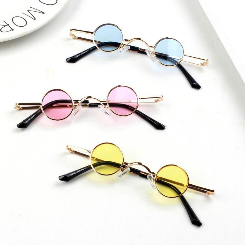 2020 Nova Moda Crianças Sunglasses Resina Lentes Meninas Óculos De Sol Meninos Óculos De Sol Ultravioleta-Prova Crianças Óculos Crianças Óculos B106
