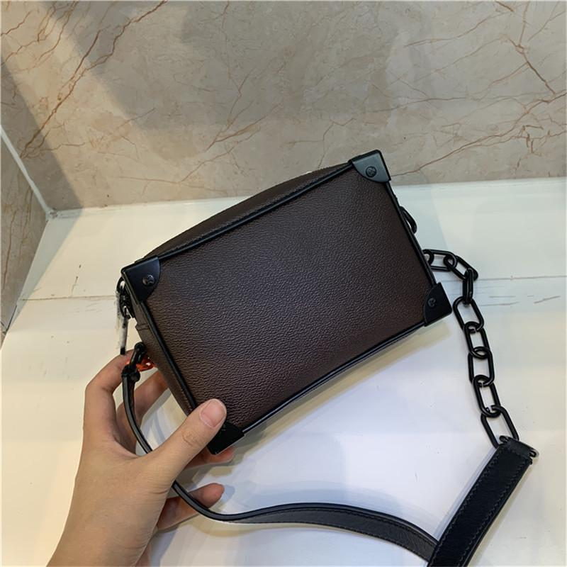 Top selling Designer fashion Female Mini Soft Trunk 1:1 Genuine Leather Clutch Bags Hign End Version Handbag for Women Female M44480 Trunk H