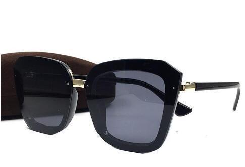 Luxe-2019 nouveau style été marque chaude Tom Sunglasses Hommes Femmes Brand Eyewear Coating lentille UV400 Voyage extérieure Sunwear vient avec une boîte A Gjer