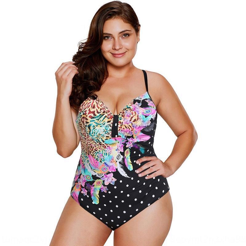 2020 grande fiore formato stampa un pezzo 2020 della stampa di grande formato del costume da bagno del fiore un pezzo del costume da bagno bikini delle donne del bikini delle donne