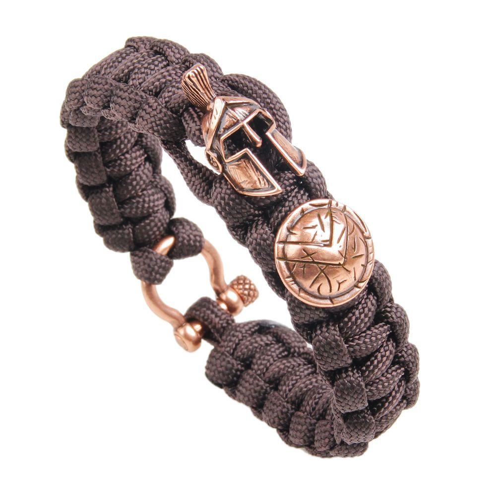 21.5CM*1.8CM 2018 New outdoor survival military rule umbrella rope helmet shield bracelet&bangles for men/women