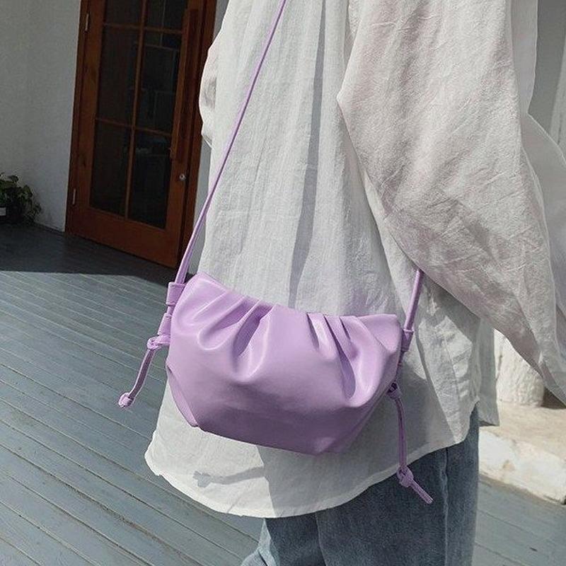 2020 nouveau sac messager version coréenne de mode casual femmes sac à bandoulière embrayage pli
