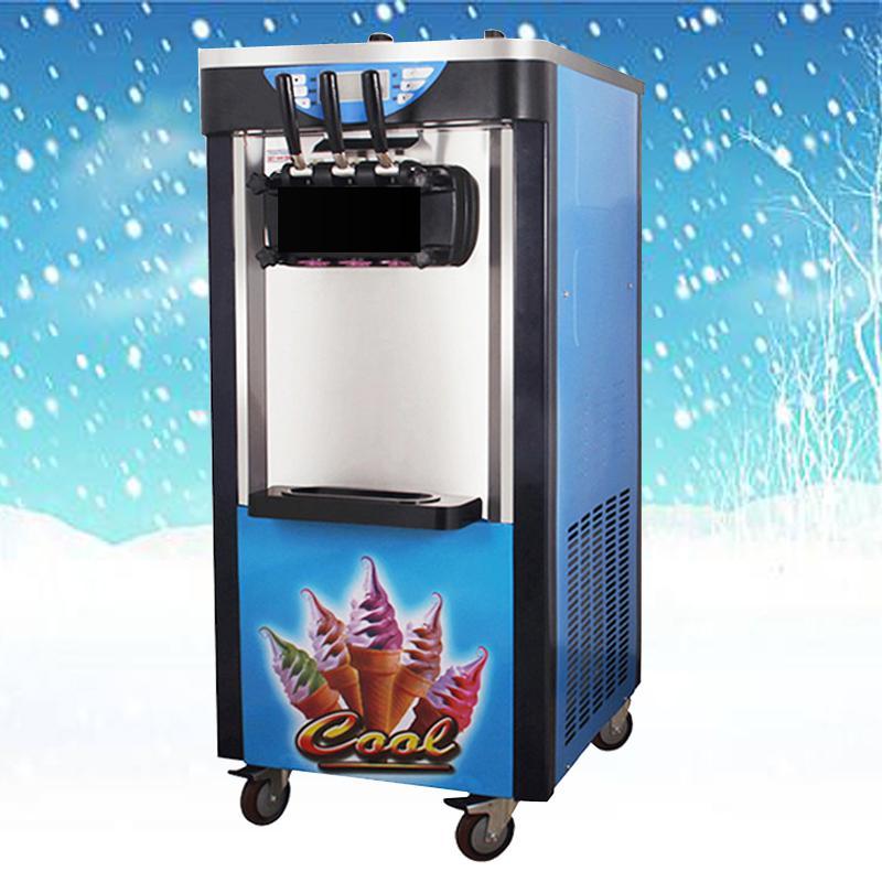 Ucuz Fiyat Ticari 3 Lezzet Donmuş Yoğurt Yumuşak satılık Yumuşak dondurma Making Machine Ice Cream Serve