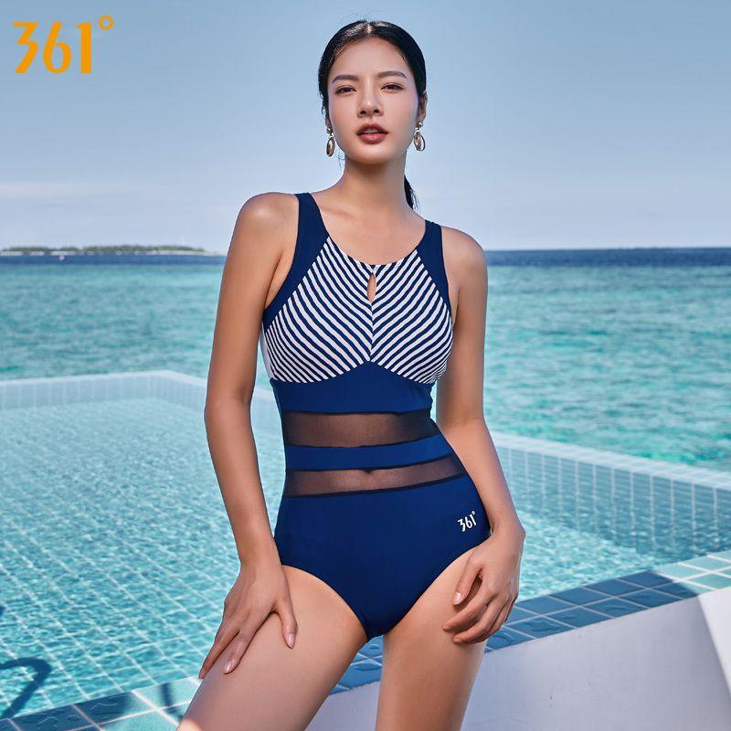 361 Sexy Mesh Transparent Swimsuit One Piece Bikini Women Bath Suit Swimwear Backless Monokini Female Swim Suit Girls Bathers Y19062901