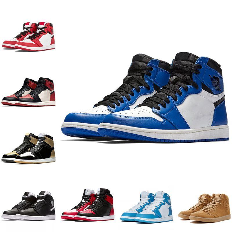 chaussure air jordan 1 mid bleu