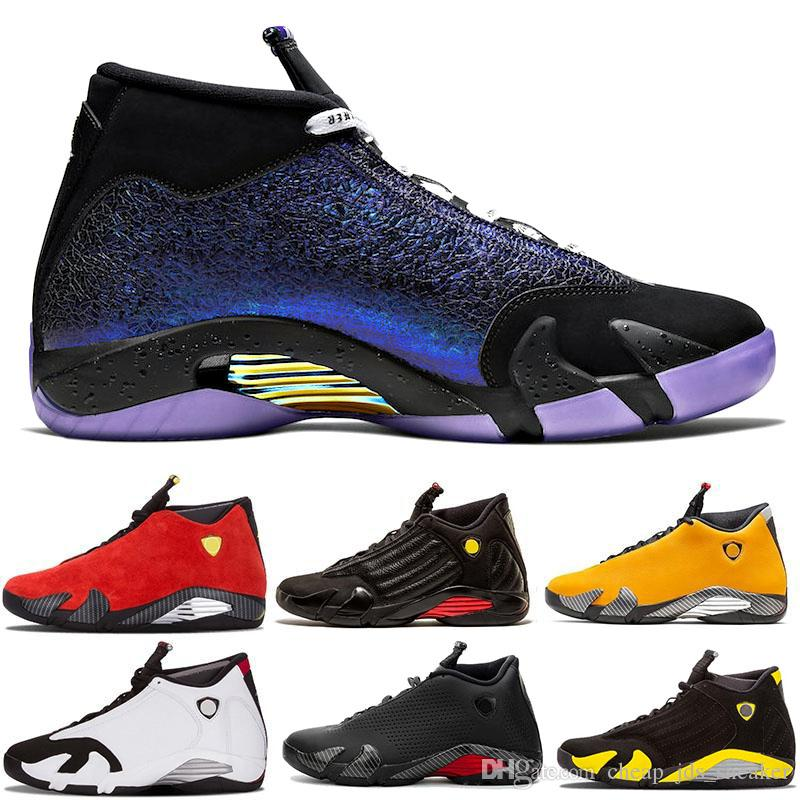 2020 nuove scarpe Jumpmen 14s pallacanestro Doernbecher Nero Rosso Cowgirl Ferrar 14 ultimo colpo DMP Candy Cane Mens Outdoor Basket Sneakers