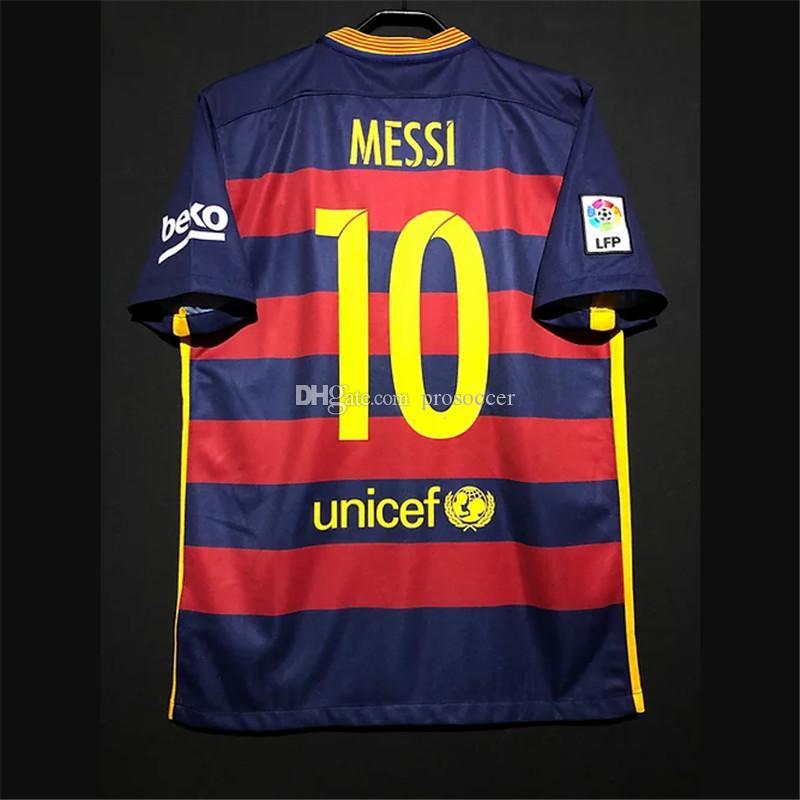 Retro Messi Suarez Iniesta Adriano Puyol Xavi Mascherano Futebol Jerseys Kit Vintage Camisa Clássica