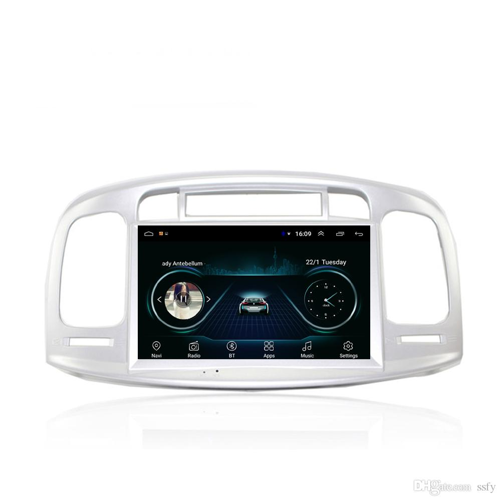 Android car mp3 mp4 player excellent bluetooth Resolution HD1080 display Resolution 1024 * 600 USB for Hyundai Accent 2006-2011 8inch