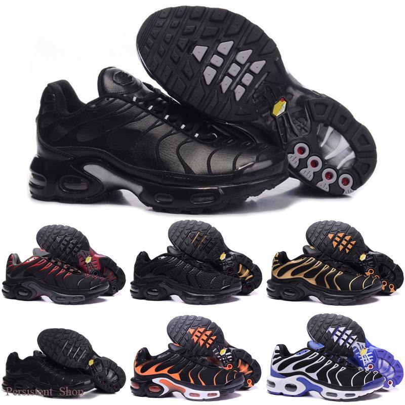 2020 casual shoes Original 2018 NEW TN Plus Men Shoes For Cheap Tn Plus white Black blue casual Shoes Tn Requin Chaussures