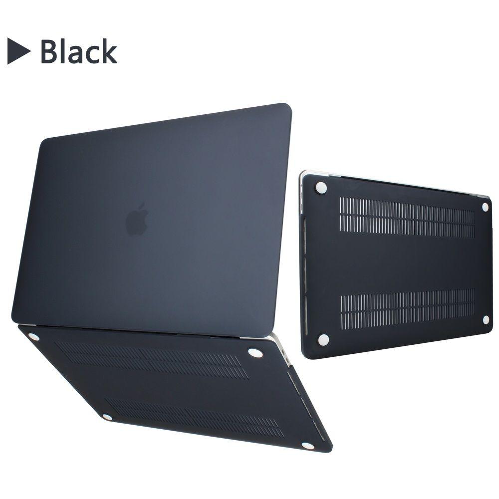 Cas pour l'air MacBook pro 11 12 13 pouces Étui rigide mat avant Dos complet portable Body Shell Case Cover A1369 A1466 A1708 A1278 A1465