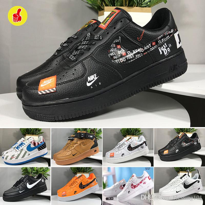 Nike air force 1 one off white  Marca 1 Utility Classic Black White Dunk Uomo Donna Casual Shoes Red One Sport Skateboarding Alte Low Cut frumento formatori off
