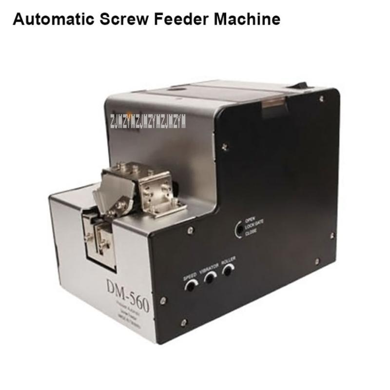DM-560 220V Parafuso Alimentador Automático de Máquina de rosca transportadora Arranjo Máquina DM-560 1,0 a 5,0 milímetros