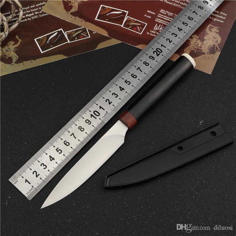 Bıçaklar sağkalım anahtarlık bıçak EDC Bıçak Tools avcılık sabit bıçak düz bıçak açık kamp maket bıçakları