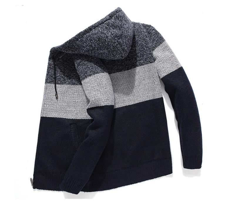 Designer Mens Patchwork Felpe Autunno Inverno spessa incappucciata Mens Felpe Moda dal O collo Homme Abbigliamento