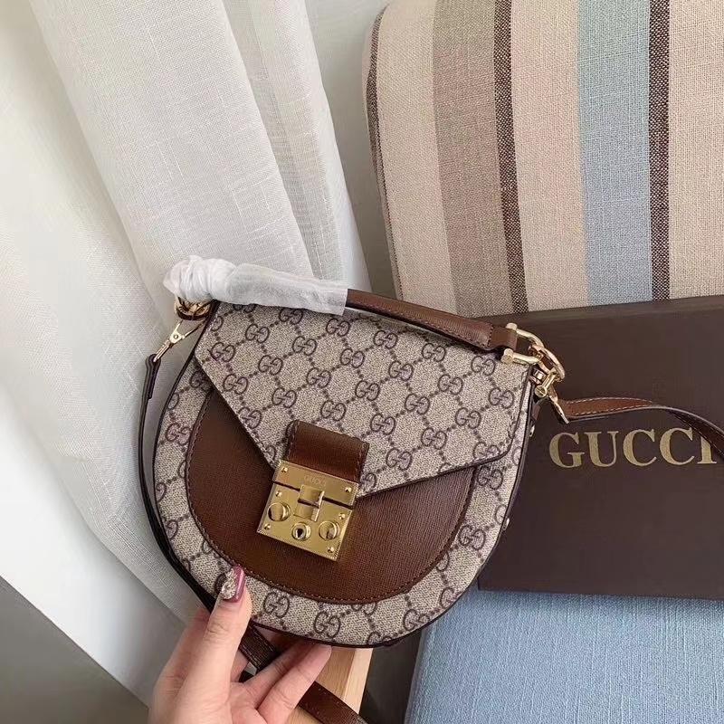 2020 célèbre sac d'épaule nouvelle lettre de femmes de design de haute qualité en cuir véritable Messenger sac de selle sac de luxe 8 # 122