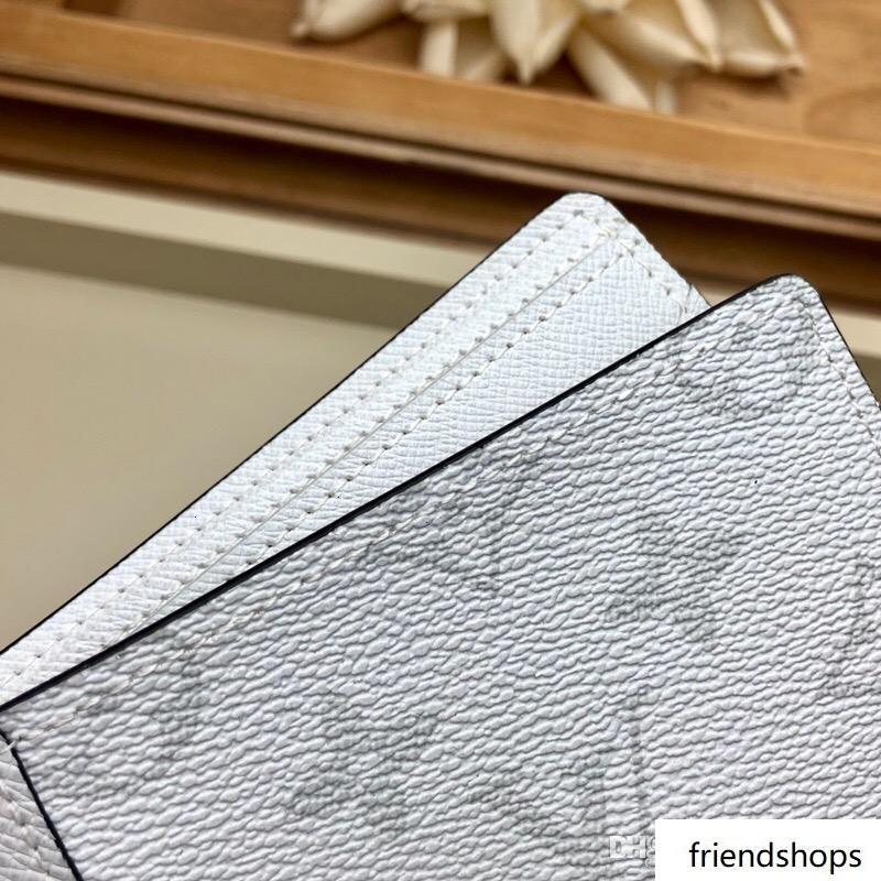 meilleur designer Courtes de luxe classique en cuir titulaire hommes paragraphe portefeuille de poche