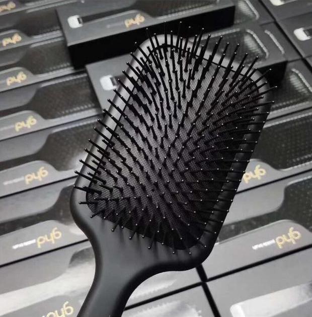 9hd مجداف فرشاة الهواء وسادة الهواء مشط ماركة مشط تفكيك فرشاة الشعر مستقيم الحديد مع مربع التجزئة شحن مجاني