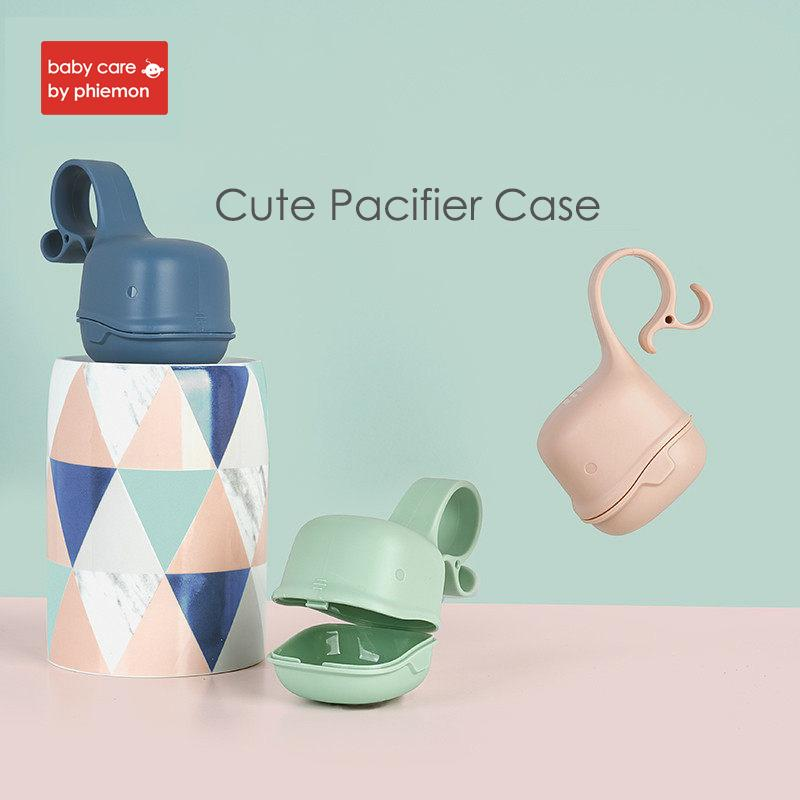 Baby Tragbare Schnuller Nippel Wiege Fall Halter Infant Reise Aufbewahrungskoffer Neugeborenen Schnuller Snack Safe Tragebehälter