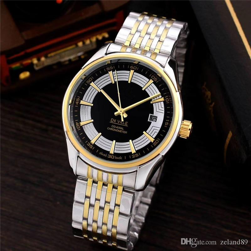 2019zeland relógio dos homens, correia de aço mecânica relógio dos homens de negócios, presente preferido, Instagram quente procurar # invictalike4like # pleasefollow #tag